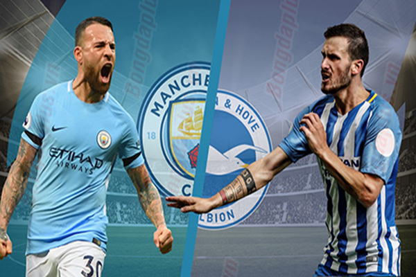 Link sopcast: Man City vs Brighton, 21h00 ngày 29/9