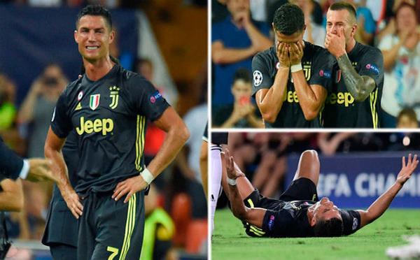 Ronaldo nhận thẻ đỏ Cup C1, UEFA phán bất ngờ