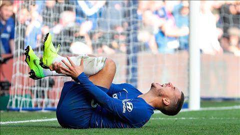 Hazard dính chấn thương chưa chắc đã ra sân trước Burnley