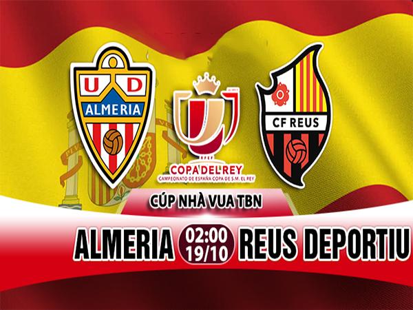 Nhận định Almeria vs Reus Deportiu, 02h00 ngày 19/10: Cúp Tây Ban Nha