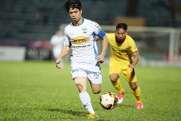 Cơ hội cho Công Phượng giành vua phá lưới tại V-League 2018