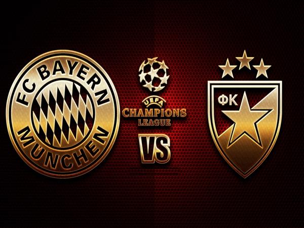 Nhận định trận đấu Bayern Munich vs Crvena Zvezda (2h00 ngày 19/9)