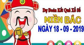 Dự đoán XSMB ngày 18/9/2019 – Dự đoán xổ số Bắc Ninh thứ 4 hôm nay