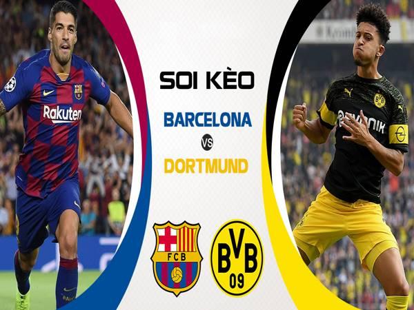 Nhận định Barcelona vs Borussia Dortmund (3h00 ngày 28/11)