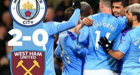 4 điều rút ra sau trận Man City 2-0 West Ham