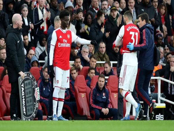 CLB Arsenal lo lắng về chấn thương của Kolasinac