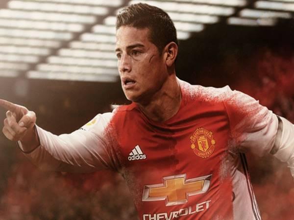 Manchester United thuận lợi khi đàm phán thương vụ Rodriguez