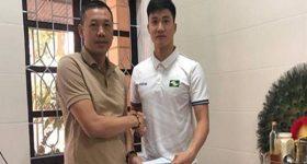 Bóng đá Việt Nam ngày 10/11: SLNA giữ chân thành công Văn Hoàng