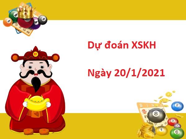 Dự đoán XSKH 20/01/2021 – Dự Đoán Xổ Số Khánh Hòa Thứ 4