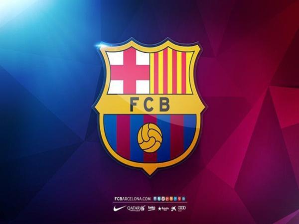 Logo khá ấn tượng của CLB Barcelona.