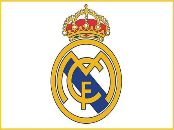 Logo câu lạc bộ bóng đá Real Madrid.