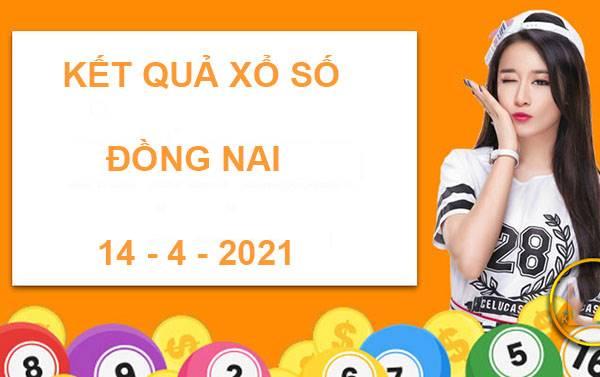 Dự đoán xổ số Đồng Nai thứ 4 ngày 14/4/2021