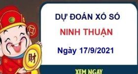 Dự đoán xổ số Ninh Thuận ngày 17/9/2021 hôm nay thứ 6